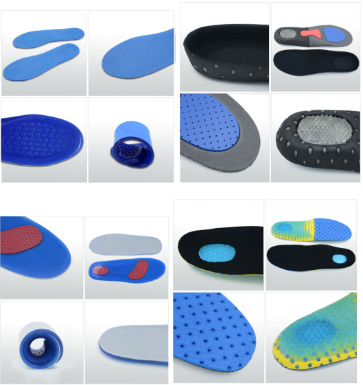 massaging gel inserts for running shoes